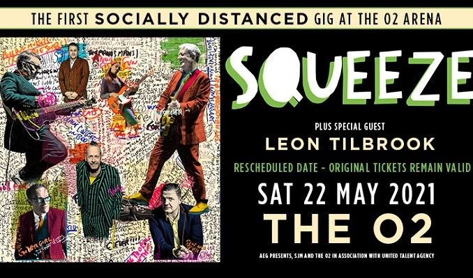 Squeeze - CANCELLED tickets at The O2 in London