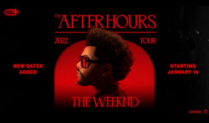 The Weeknd tickets at Rocket Mortgage FieldHouse in Cleveland