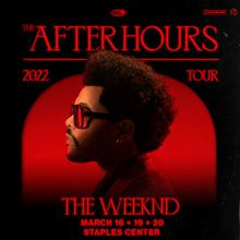 The Weeknd  tickets at STAPLES Center in Los Angeles