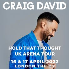 Craig David - RESCHEDULED tickets at The O2 in London