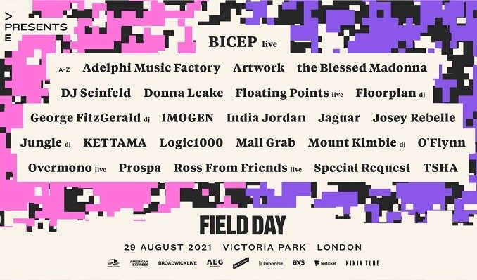 Field Day tickets at Victoria Park in London