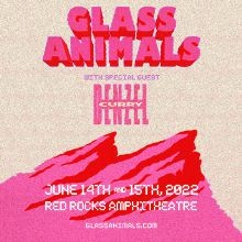 Glass Animals 6/15 tickets at Red Rocks Amphitheatre in Morrison