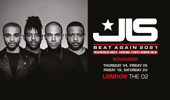 JLS - RESCHEDULED tickets at The O2 in London