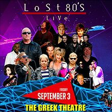 Lost 80's Live tickets at The Greek Theatre in Los Angeles