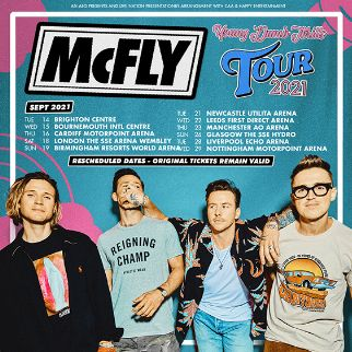 McFly - RESCHEDULED