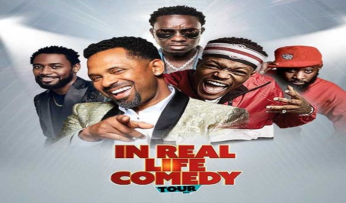 In Real Life Comedy Tour tickets at T-Mobile Center in Kansas City