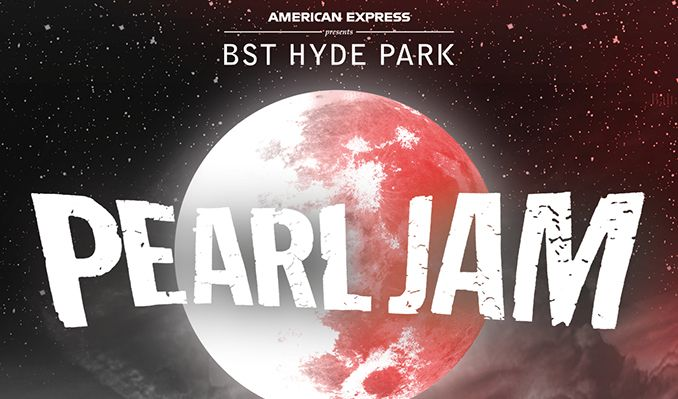 Pearl Jam - RESCHEDULED tickets at Hyde Park in London