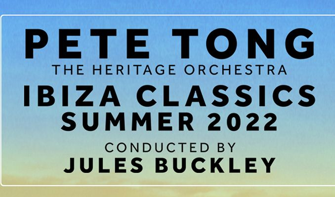 Pete Tong & The Heritage Orchestra Ibiza Classics - RESCHEDULED tickets at Newmarket Racecourses in Suffolk