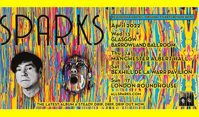 Sparks - RESCHEDULED tickets at Albert Hall Manchester in Manchester