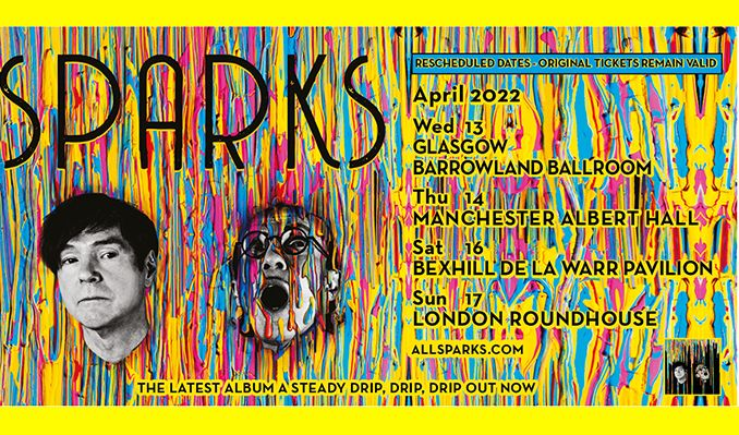 Sparks - RESCHEDULED tickets at De La Warr Pavilion in Bexhill-on-Sea