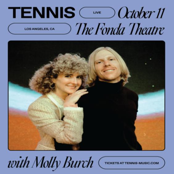 Tennis tickets at Fonda Theatre in Los Angeles