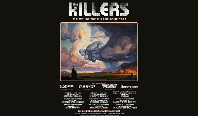 The Killers - RESCHEDULED tickets at Keepmoat Stadium in Doncaster