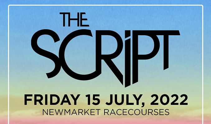The Script: The Jockey Club Live - RESCHEDULED tickets at Newmarket Racecourses in Suffolk