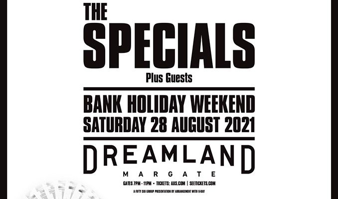 The Specials tickets at Dreamland Margate in Margate