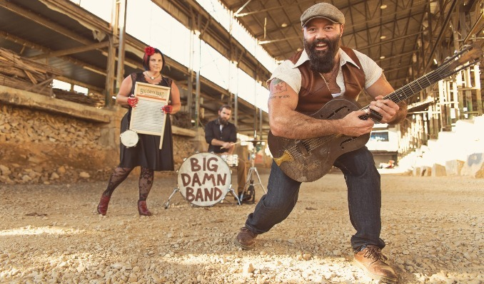 The Reverend Peyton's Big Damn Band tickets at Riverfront Live in Cincinnati