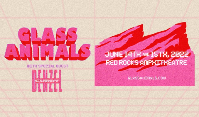 Glass Animals 6/14 tickets at Red Rocks Amphitheatre in Morrison