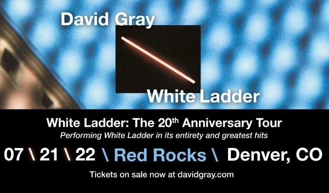 David Gray  tickets at Red Rocks Amphitheatre in Morrison