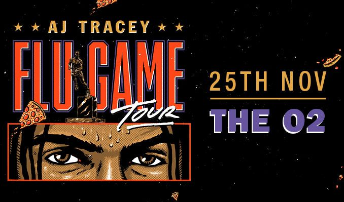 AJ Tracey tickets at The O2 in London
