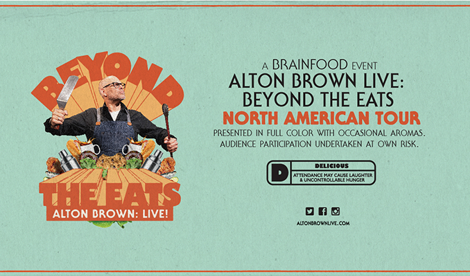 Alton Brown Live: Beyond The Eats tickets at Arvest Bank Theatre at The Midland in Kansas City