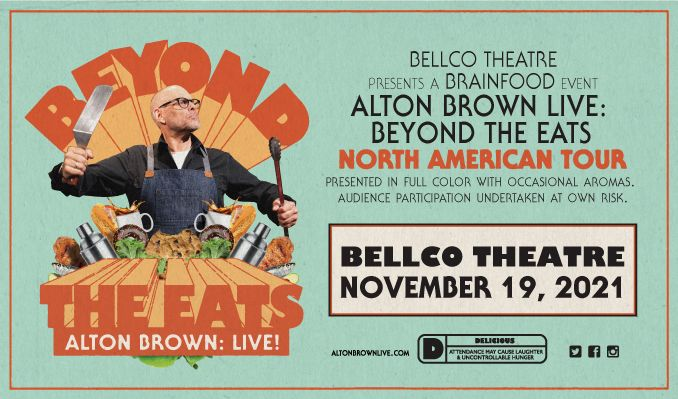 Alton Brown Live: Beyond the Eats tickets at Bellco Theatre in Denver