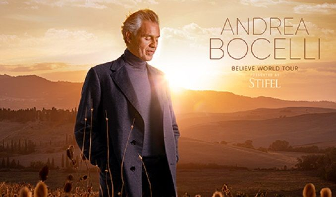 Andrea Bocelli tickets at Toyota Center in Houston
