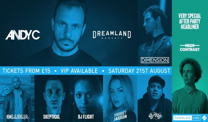 Andy C - RESCHEDULED  tickets at Dreamland Margate in Margate