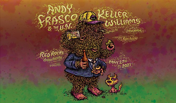Andy Frasco & The U.N. and Keller Williams tickets at Red Rocks Amphitheatre in Morrison