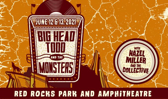 Big Head Todd and the Monsters 6/13 tickets at Red Rocks Amphitheatre in Morrison