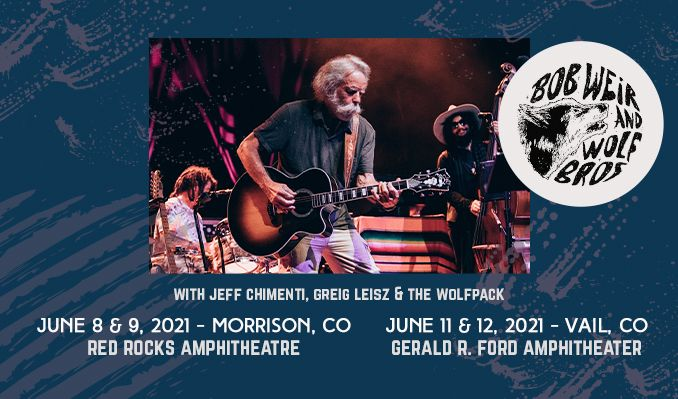 Bob Weir and Wolf Bros tickets at Red Rocks Amphitheatre in Morrison