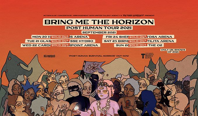 Bring Me The Horizon tickets at FlyDSA Arena in Sheffield