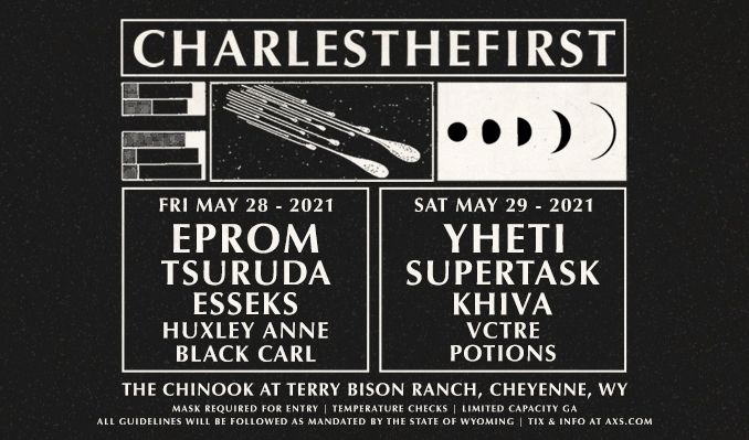 CharlestheFirst tickets at The Chinook at Terry Bison Ranch in Cheyenne