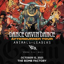 Dance Gavin Dance tickets at The Bomb Factory in Dallas