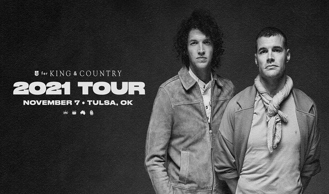 for KING & COUNTRY tickets at Mabee Center in Tulsa