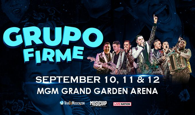 Grupo Firme tickets at MGM Grand Garden Arena in Las Vegas