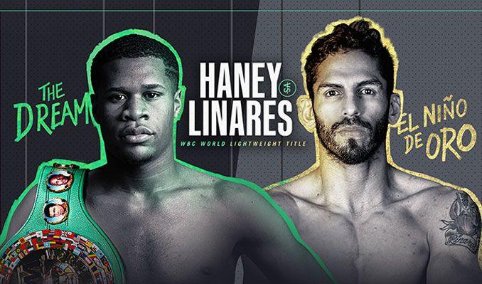 Haney vs. Linares tickets at Michelob ULTRA Arena at Mandalay Bay Resort & Casino in Las Vegas