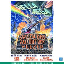 Hella Mega Tour - Green Day, Fall Out Boy and Weezer - RESCHEDULED  tickets at The London Stadium in London