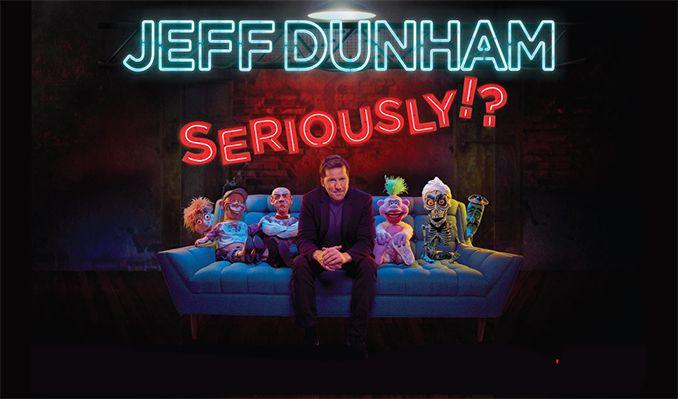 Jeff Dunham - RESCHEDULED tickets at 1STBANK Center in Broomfield