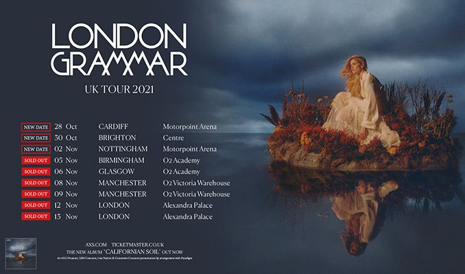 London Grammar tickets at Motorpoint Arena Cardiff in Cardiff