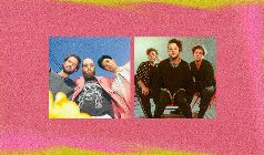 lovelytheband  & Sir Sly with cannons