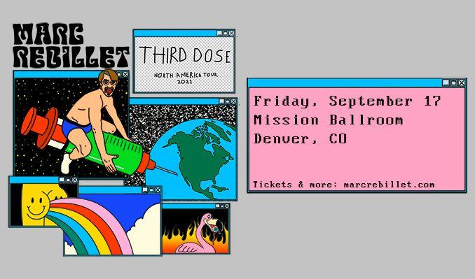 Marc Rebillet  tickets at Mission Ballroom in Denver