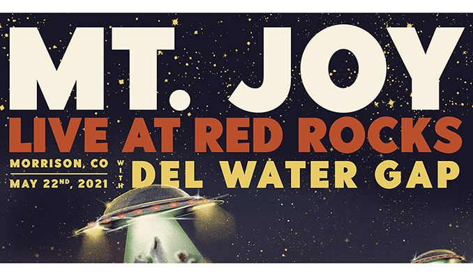Mt. Joy tickets at Red Rocks Amphitheatre in Morrison