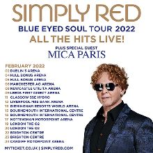 Simply Red - RESCHEDULED tickets at Resorts World Arena in Birmingham