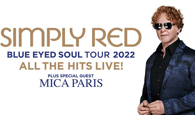 Simply Red - RESCHEDULED tickets at The O2 in London