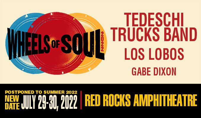 Tedeschi Trucks Band 7/29 tickets at Red Rocks Amphitheatre in Morrison