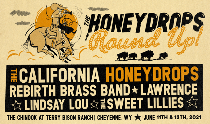 The California Honeydrops tickets at The Chinook at Terry Bison Ranch in Cheyenne