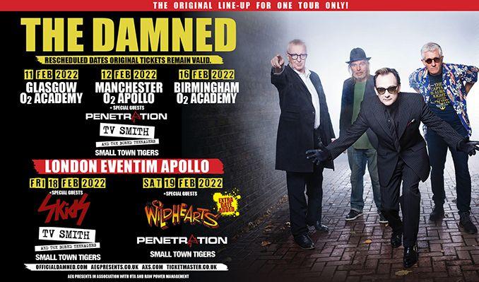 The Damned - RESCHEDULED tickets at O2 Academy Birmingham in Birmingham