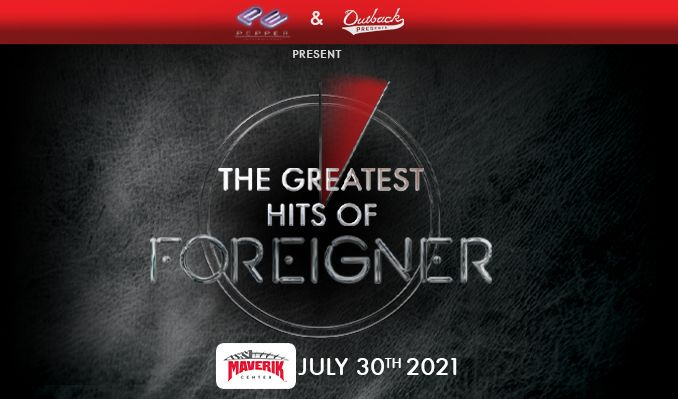The Greatest Hits of Foreigner tickets at Maverik Center in Salt Lake City
