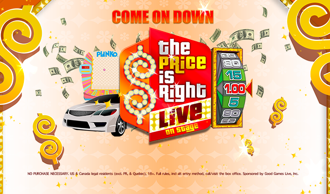 The Price is Right Live! tickets at Arvest Bank Theatre at The Midland in Kansas City