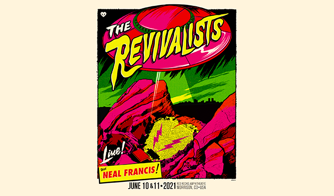 The Revivalists 6/11 tickets at Red Rocks Amphitheatre in Morrison