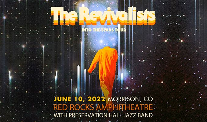 The Revivalists  tickets at Red Rocks Amphitheatre in Morrison
